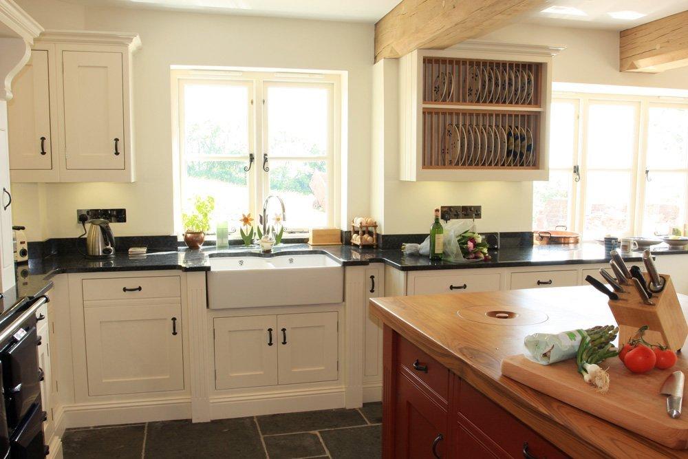 Painted Farmhouse Kitchen Somerset