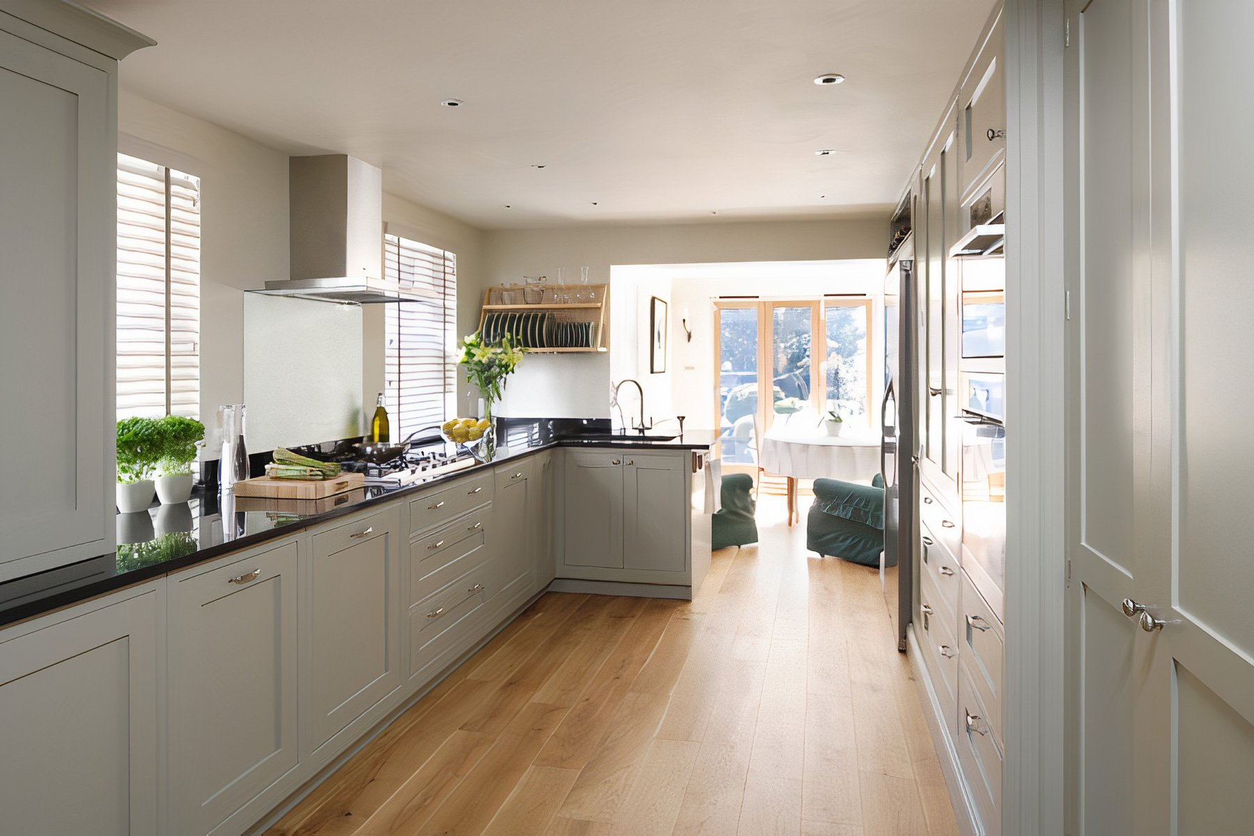 Shaker Style Kitchen Somerset