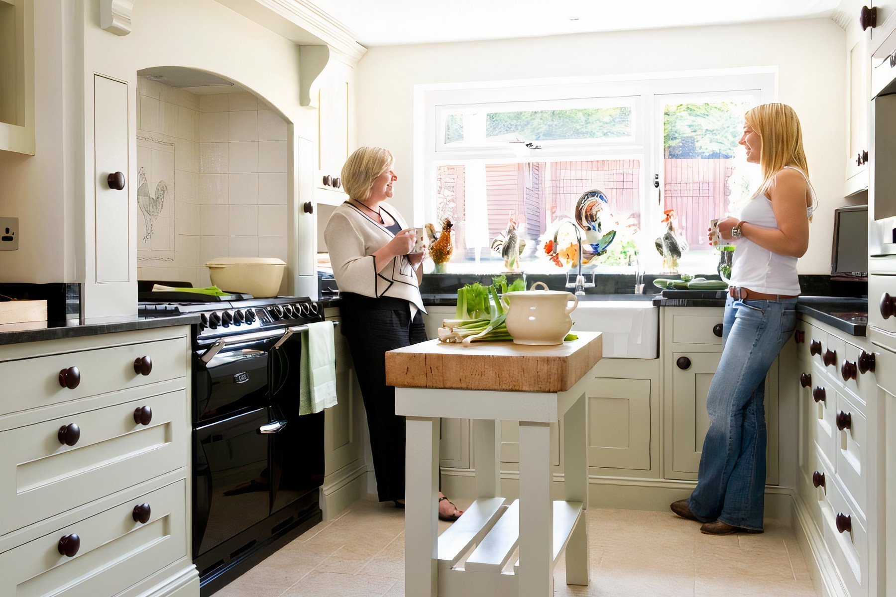 Traditional Family Kitchen Somerset